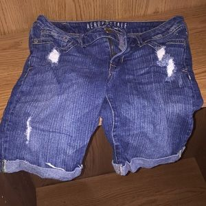 Aeropostale Distressed Shorts Girls - Size 2